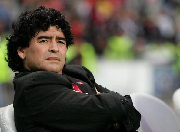 图文-[冠军杯]AC米兰vs利物浦马拉多纳赛场观战