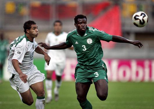 图文-[世青赛]尼日利亚3-0摩洛哥塔伊沃体壮如牛