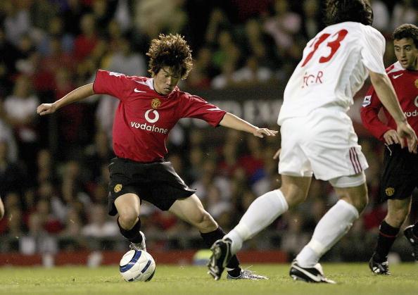 图文-[冠军杯]曼联3-0德布雷岑韩国人的红魔之舞