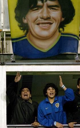 图文-[南美超级杯]博卡3-1卡尔达斯以老马的名义