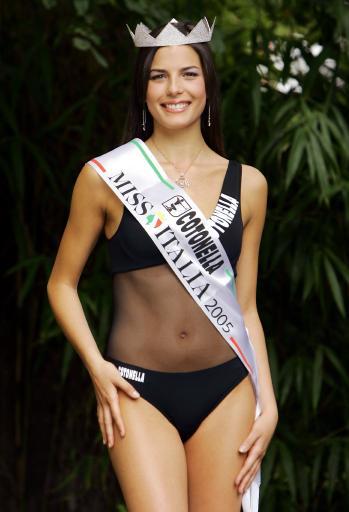 图文-2005意大利小姐新鲜出炉玛斯乔塔支持尤文