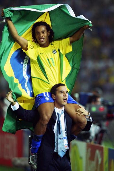图文-罗纳尔迪尼奥巴西领袖他是巴西的王