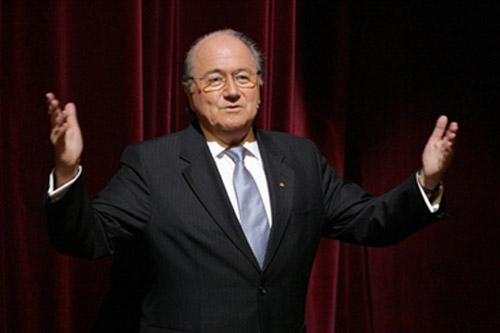 图文-FIFA足球先生票选花落谁家布拉特开场致词