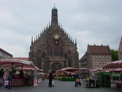图文-世界杯十二举办城市掠影纽伦堡城市风光