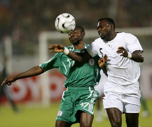 图文-[非洲杯]尼日利亚1-0加纳阿加霍瓦胆战心惊