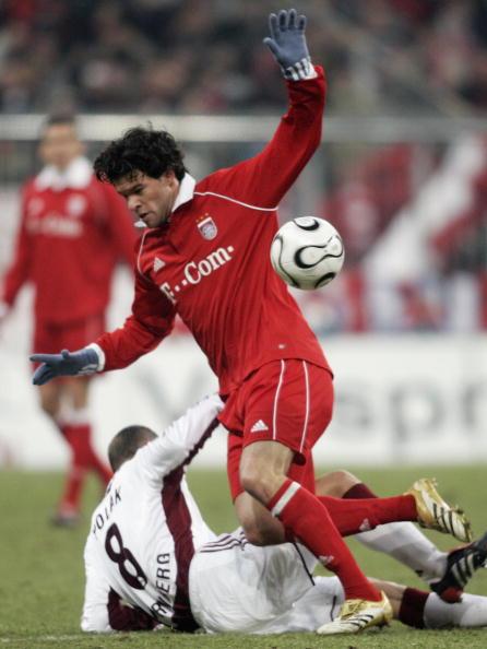 图文-[德甲]拜仁2-1纽伦堡巴拉克中场巧妙过人