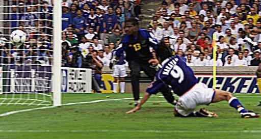 图文-98年世界杯日本1-2牙买加中山雅史创造历史