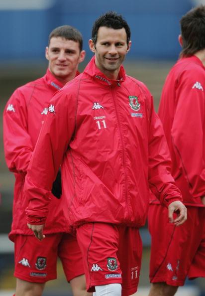 图文-威尔士国家足球队训练吉格斯的美好回忆在曼联