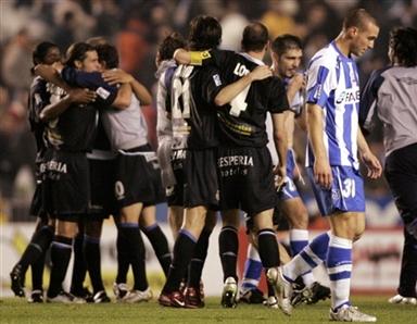 图文-[国王杯]西班牙人平拉科进决赛悲喜两重天