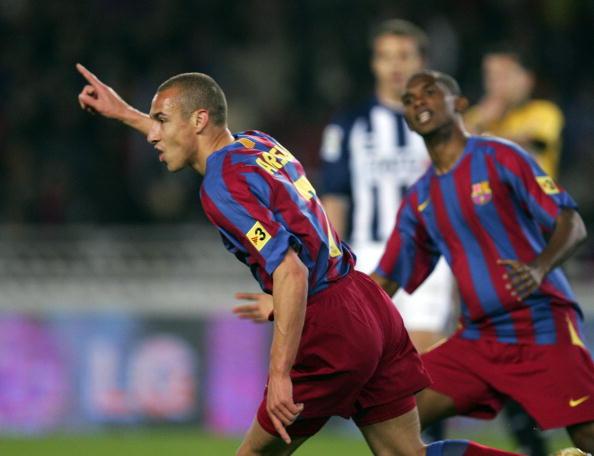 图文-[西甲]皇家社会VS巴塞罗那进球原来如此容易