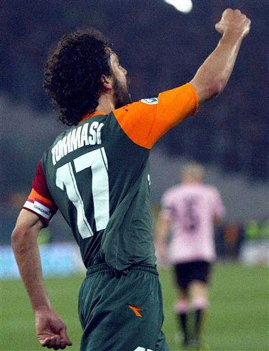 图文-[意大利杯]罗马1-0巴勒莫万能托马西又回来了