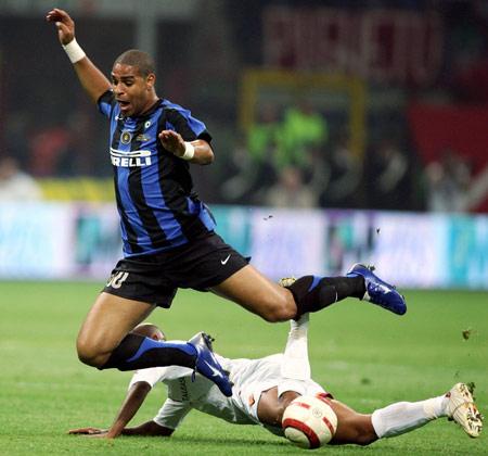图文-[意大利杯]国际米兰3-1罗马碌碌无为的阿德