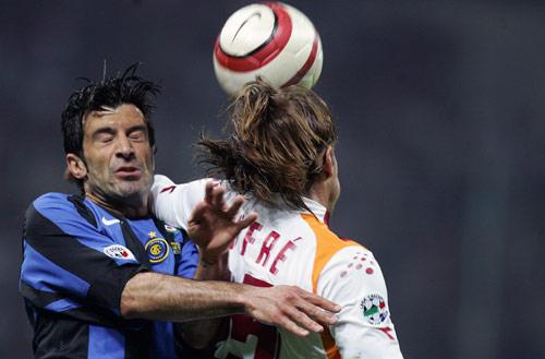 图文-[意大利杯]国际米兰3-1罗马菲戈霍出老命