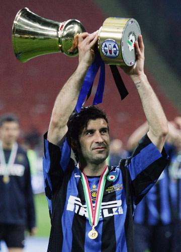 图文-国际米兰庆祝意大利杯夺冠我不拿冠军好多年