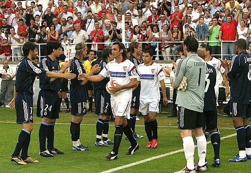 塞维利亚VS皇马豪门欢迎联盟杯冠军
