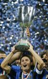 图文-[超级杯]国际米兰4-3罗马萨内蒂激动不已