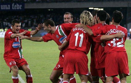 图文-[意大利杯]那不勒斯VS尤文尤文仍然团结一心