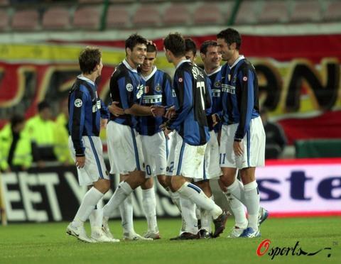 图文-[意大利杯]梅西纳0-1国米他为球队带来胜利