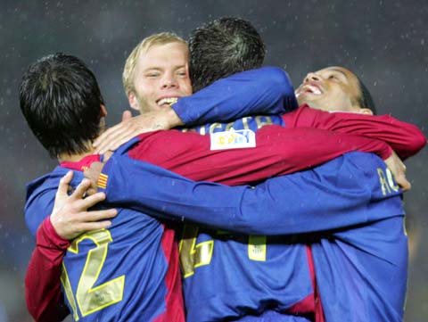 图文-[世俱杯]巴萨4-0美洲队这就是巴萨成功的秘诀