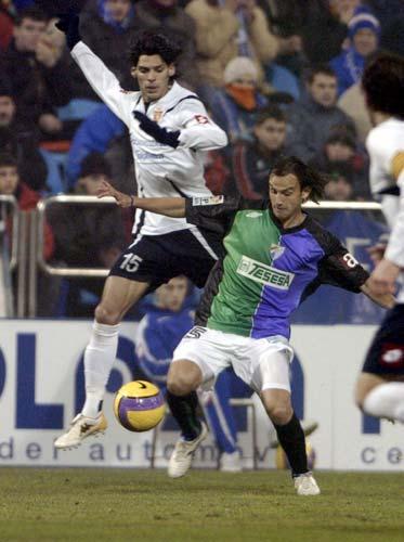 图文-[国王杯]萨拉戈萨0-1马拉加席尔瓦力阻拉菲达