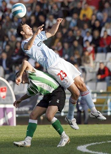 图文-[西甲]塞尔塔2-2桑坦德竞技中了他的圈套
