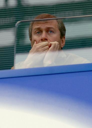图文-[英超]切尔西VS热刺老板阿布默默关注比赛