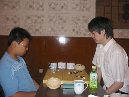 图文-阿含-桐山杯本赛战罢第二轮周睿洋击败林峰