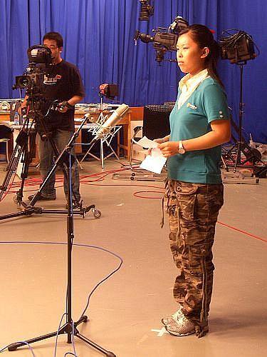 图文-智慧女主播训练营第4天选手刘斯文在口试中