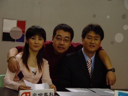 图文-《韩国联赛》节目录制花絮我们是好搭档