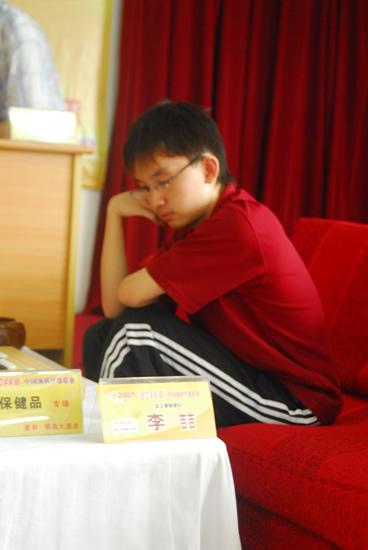 图文-2007围甲联赛第三轮开战李哲是武汉主将