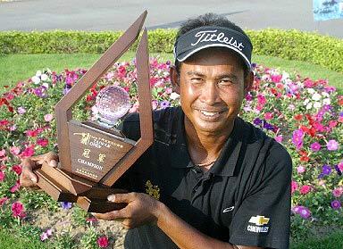 台湾公开赛成泰国天下威拉沧里拉特抱走冠亚军