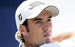 南非高尔夫公开赛菲舍领先五杆古森升至第二位