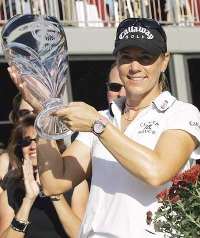 05年十大高球传奇之八女皇索伦斯坦对成功上瘾