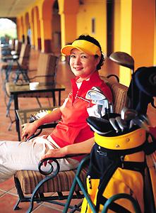 寻找高尔夫魅力的答案袁鸣亲身感悟高球第六感