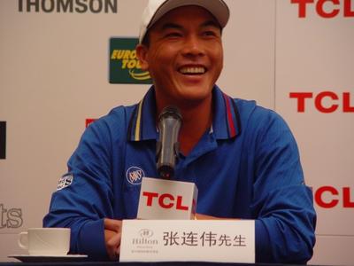 TCL高尔夫精英赛球员介绍中国首席选手张连伟