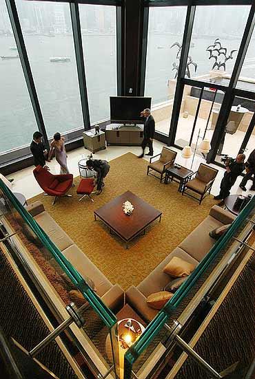 奢侈生活:金元帝国的标志世界最顶级套房一览