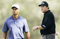 PGA锦标赛伍兹明星组收杆三大赛冠军以69杆战平