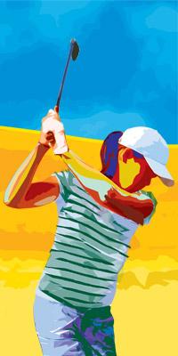 从硬币滑落的方向纠错教你纠正高尔夫挥杆平面