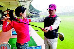 首期泛鹰高尔夫训练营在重庆好韵高尔夫球场举行