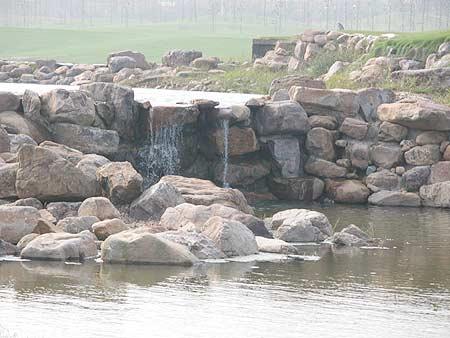 图文-湖南龙湖国际高尔夫俱乐部球场美丽一景
