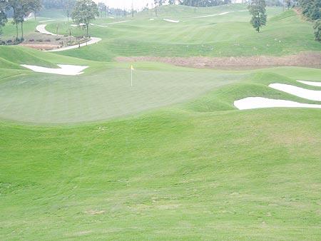 图文-湖南龙湖国际高尔夫俱乐部球场风光无限好