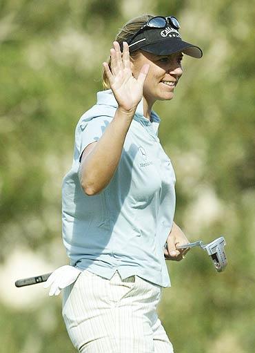 图文-三星世界锦标赛决赛轮大姐大索伦斯坦