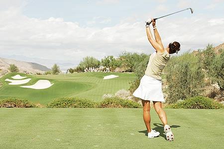 [球技]更好的姿势=更好的平衡=更好的高尔夫