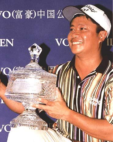 VOLVO中国公开赛历届冠军--奇拉汉(1999)
