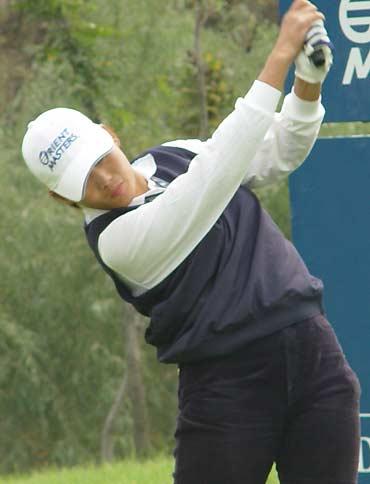 图文-东方名人职业赛第二轮本土球员陈小红