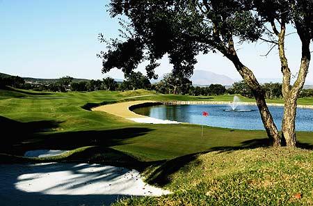 球进入长草区内的临时积水中高尔夫球规则详解