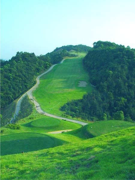图文-青竹湖国际高尔夫球会绿色通道危机四伏