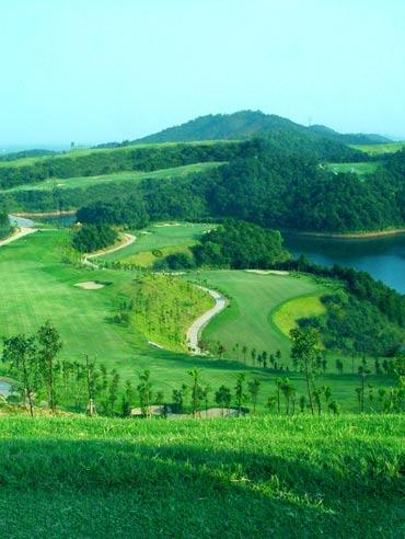 图文-青竹湖国际高尔夫球会新鲜色彩层次分明