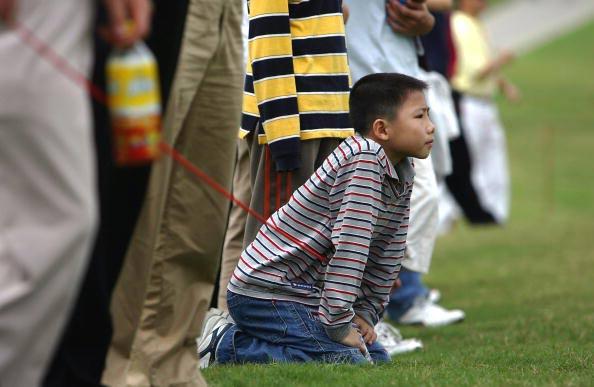 图文-三亚精英赛决赛轮开杆中国高尔夫未来希望