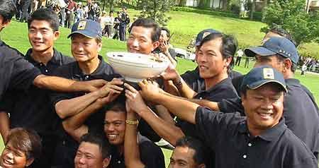 图文-首届朝王杯亚日对抗赛团结的亚洲联队